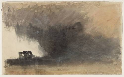 'Duddon Sands' circa 1825-32 by Joseph Mallord William Turner 1775-1851